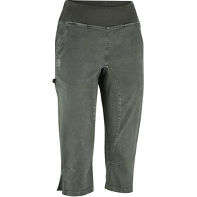 Edelrid Rope Rider 3/4 Broek Dames, black forest
